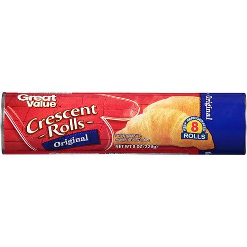 Great Value Crescent Rolls, 8 oz