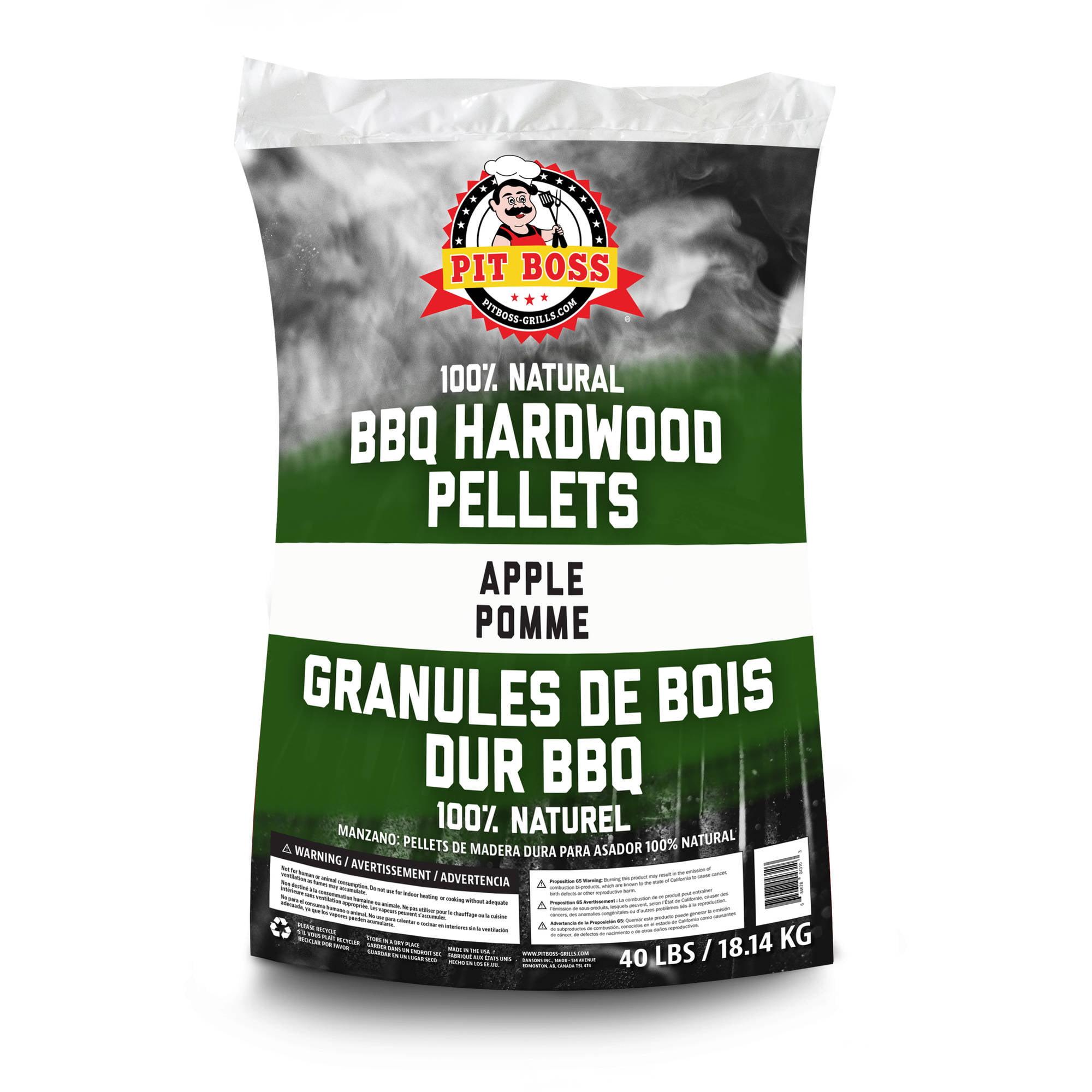 Pit Boss BBQ Wood Pellets, Apple, 40 lbs