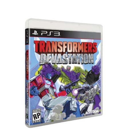 Transformers Devastation, Activision, PlayStation 3,