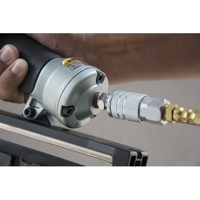 hitachi finish nailer. hitachi nt65ma4 15-gauge 2-1/2 in. angled finish nailer kit o