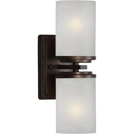 forte lighting 2424 02 4 5wx13hx5 5e indoor up lighting wall sconce