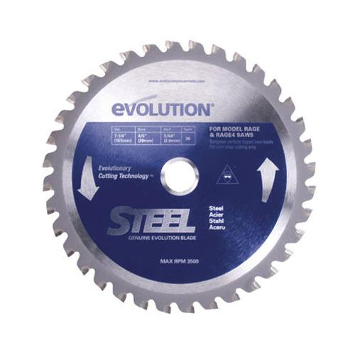Evolution - 185BLADE-ST - 7-1/4 Bld For Stl 185mmx 40t X 20mm