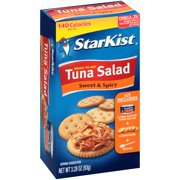 StarKist Ready-to-Eat Tuna Salad Kit, Sweet and Spicy, 3.28 Ounce Box