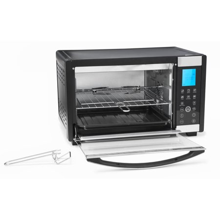 Elite Platinum ETO-2800 Stainless Steel 6 Slice Convection Toaster Oven w/ Touch Screen