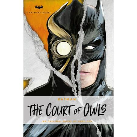 DC Comics novels - Batman: The Court of Owls -