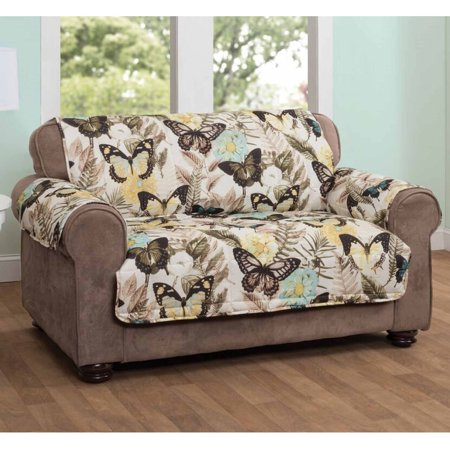 Innovative Textile Solutions Butterfly Sofa Protector, Multi-Color