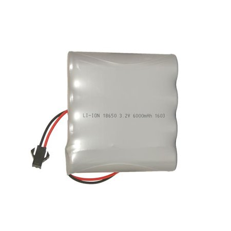 3.2V 6000 mAh LiFeP04 FLAT Battery Pack for Gama Sonic Solar Lights - image 1 of 1