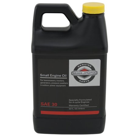 Briggs and Stratton 4-Cycle Engine Oil, 48oz - Walmart com