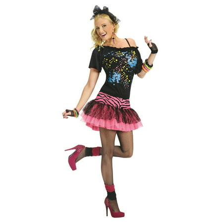 80s Pop Party Adult Halloween Costume - Halloween Party Themes Adults