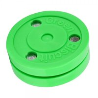Green Biscuit - Passing and Stick Handling Training Hockey Puck