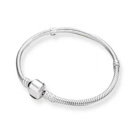 Pandora Look Bracelet 925 Silver Overlay Link For BEAUTY Women Girl