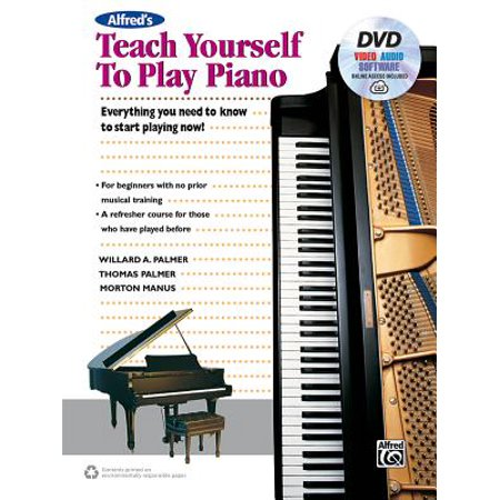 Alfred's Teach Yourself to Play Piano : Everything You Need to Know to Start Playing Now!, Book, DVD & Online Audio, Video & (A Little Bit Of Everything Dawes Piano)