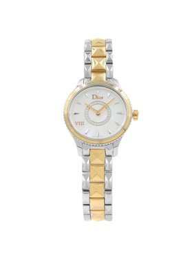 Christian Dior VIII Montaigne Steel Rose Gold Quartz Ladies Watch CD1511I0M001
