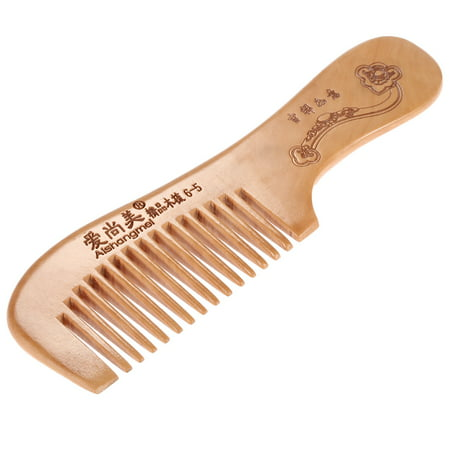 1 Pc Wooden Comb Popular Natural Health Care Hair Comb Anti-static Comb Wood Hairbrush With Handle Massage Comb Hair