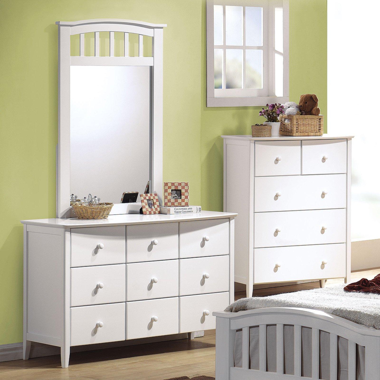 Acme Furniture San Marino Dresser with Optional Mirror