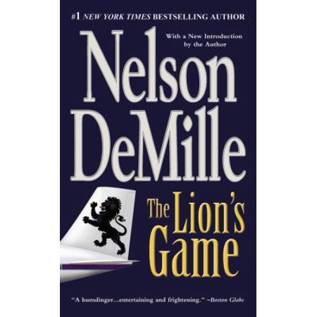 The Lion S Game By Nelson Demille 2000 Paperback Reprint