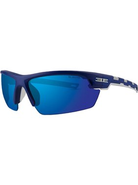 4613ab46163 Product Image Epoch LINK Sport Golf Motorcycle Riding Sunglasses Blue White  with Blue Mirror Lens. Epoch Eyewear
