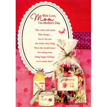 Designer Greetings Glitter Mirror, Lotion, Candle and Potpourri: Mom Mother