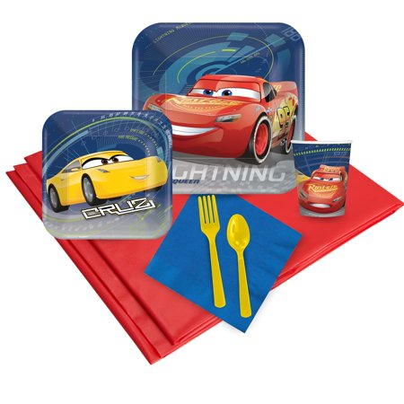 Disney Cars 3 24 Guest Party Pack](Disney Party Supplies Wholesale)