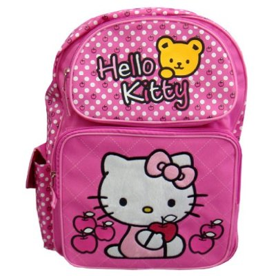 Small Backpack - Sanrio - Hello Kitty - Apple Pink New 816657