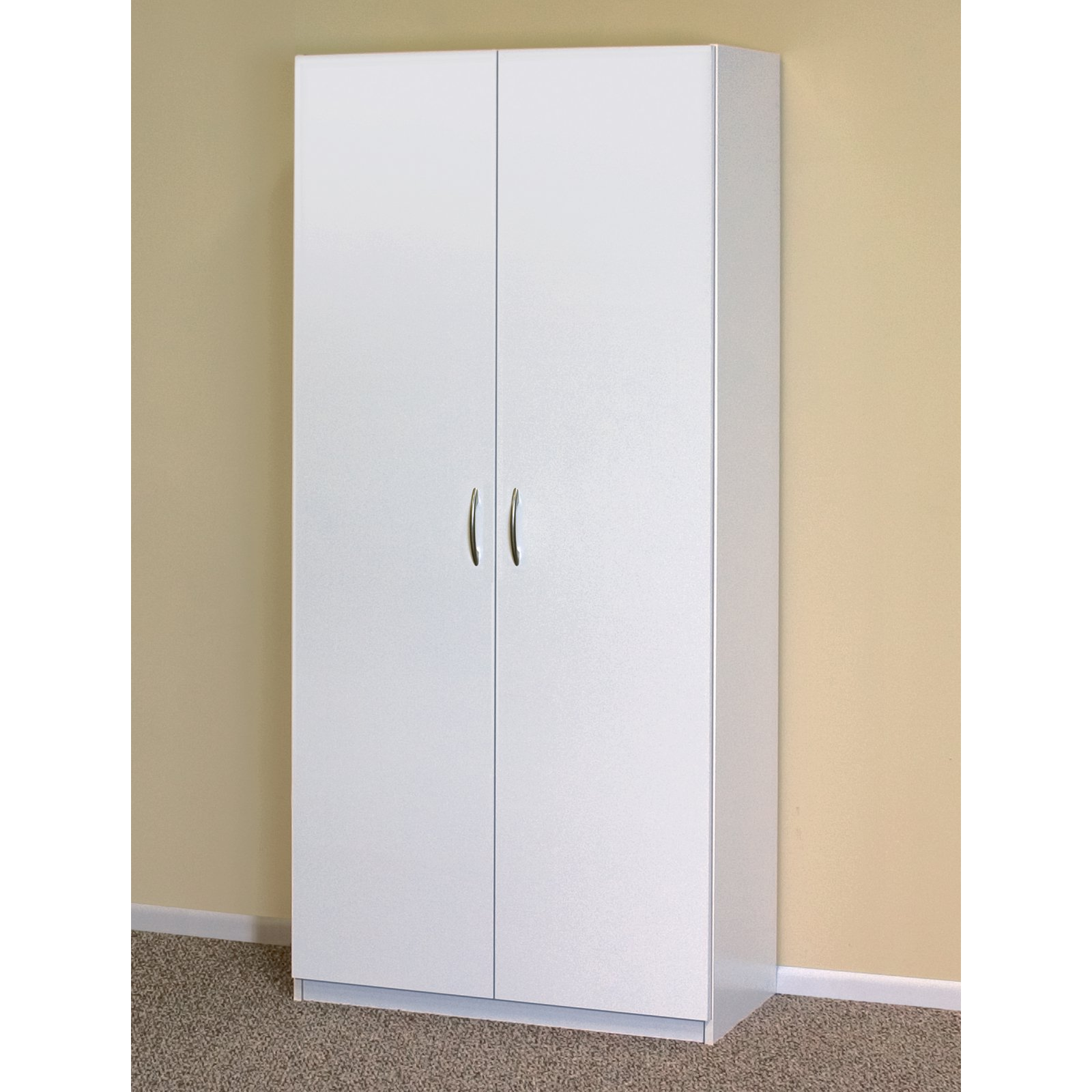 ClosetMaid Flat Panel 30 in. Freestanding Wardrobe Cabinet ...