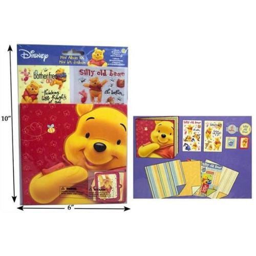 Bulk Buys Pooh Mini Album - Pack of 6