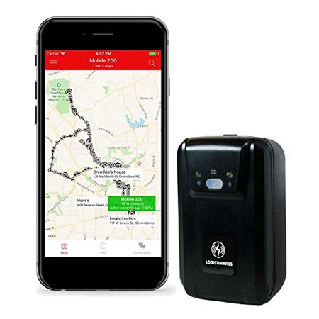 Logistimatics Mobile-200 GPS Tracker with Live Audio