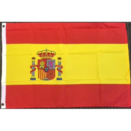 2x3 Spain Flag Spanish Banner Country Pennant Bandera Outdoor 24x36 inches](Spanish Flags)