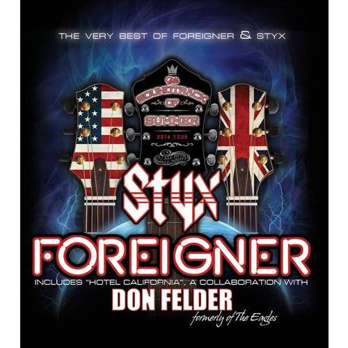 The Soundtrack Of Summer: The Very Best Of Foreigner & Styx (Walmart Exclusive)