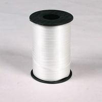 Decorating Curling Ribbon White 500 Ydroll