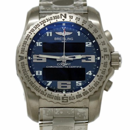 Breitling Cockpit (Pre-Owned Breitling Cockpit EB5010 Titanium  Watch (Certified Authentic &)
