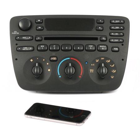 Ford Taurus 2005 2006 2007 AM FM Radio CD Player mp3 iPod w Bluetooth Upgrade - Refurbished