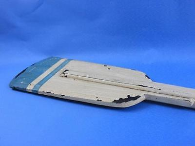 Wooden Huxley Decorative Squared Rowing Boat Oar with Hooks 50' by Handcrafted Model Ships
