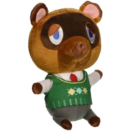 """USA Animal Crossing New Leaf Tom Nook 8"""" Plush, Official Licensed Plush By Little Buddy USA By Little Buddy"""