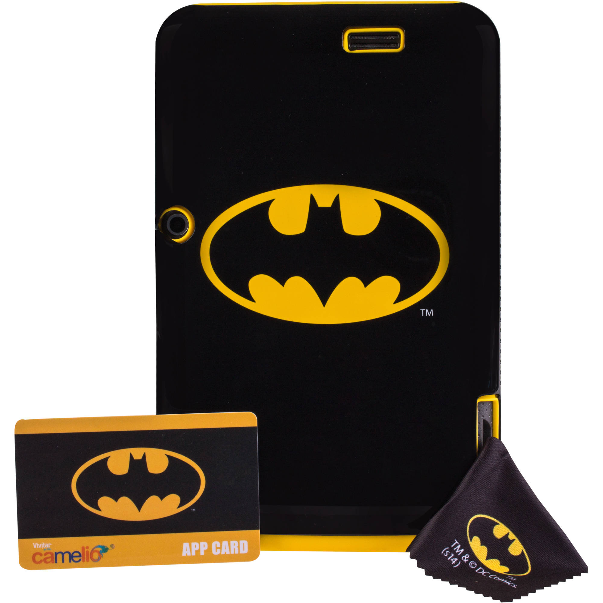 "Vivitar Camelio with WiFi 7"" Touchscreen Tablet PC Featuring Android 4.1 (Jelly Bean) Operating System, Batman Bundle"