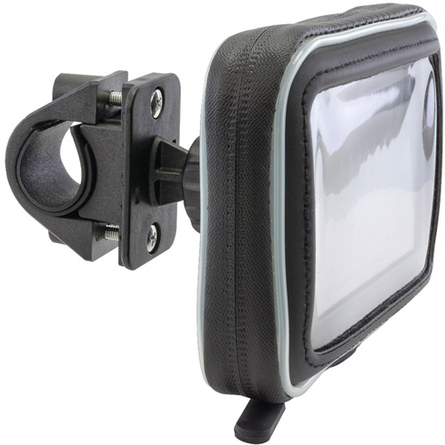 "Arkon Water-Resistant Protective Case for 5"" GPS with Bicycle Handlebar Mount"