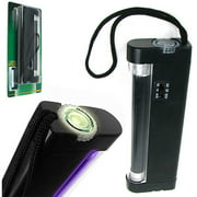 Stalwart 2-In-1 Ultraviolet Torch Light and Ultraviolet Counterfeit Money Light