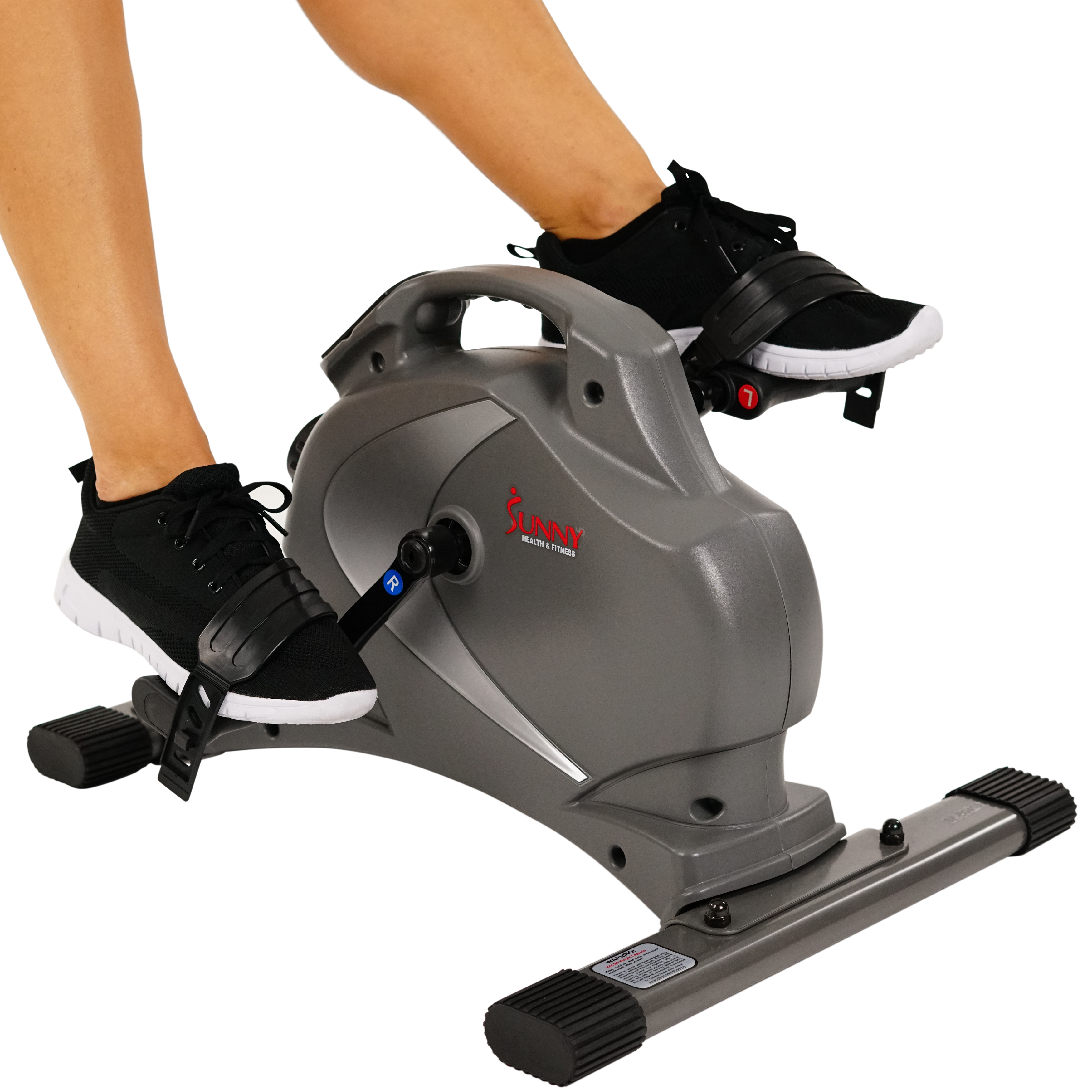 Sunny Health & Fitness SF-B0418 Magnetic Under Desk Mini Exercise Bike
