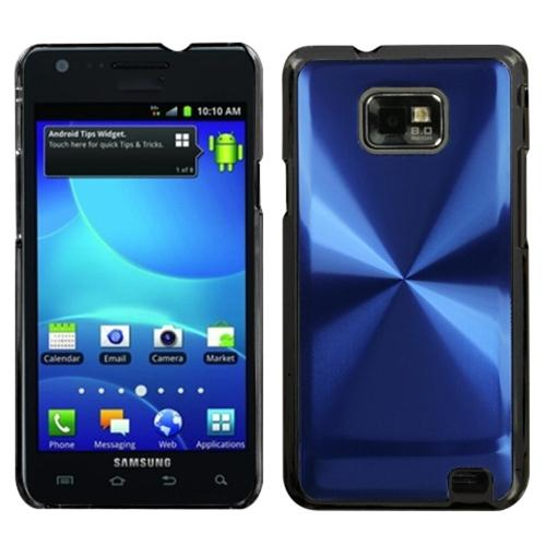 Insten Blue Cosmo Back Case for SAMSUNG: I777 (Galaxy S II)