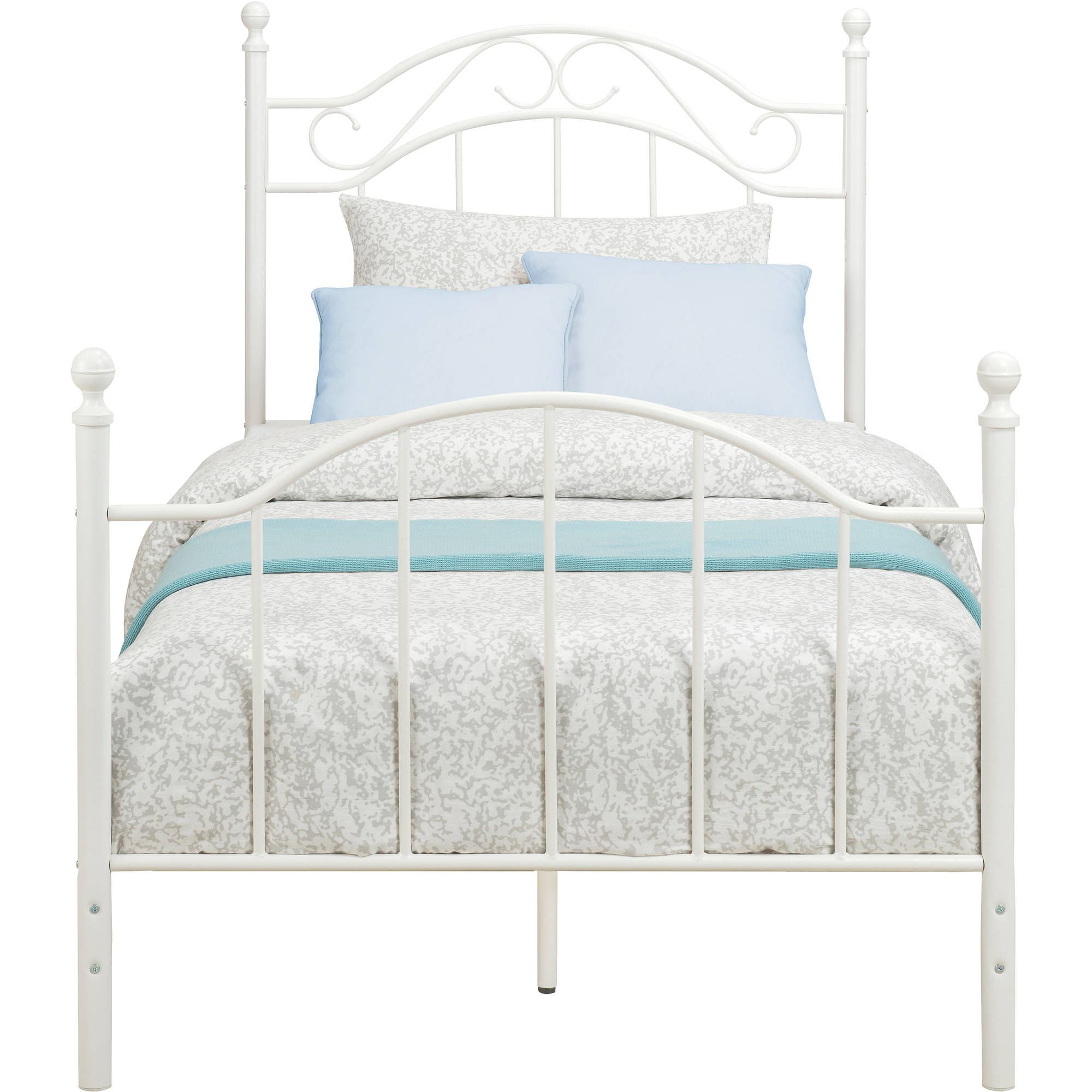 mainstays twin metal bed walmartcom