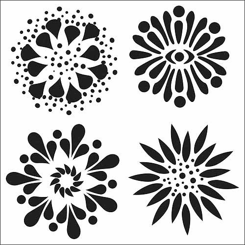"""Crafter's Workshop Templates, 6"""" x 6"""""""