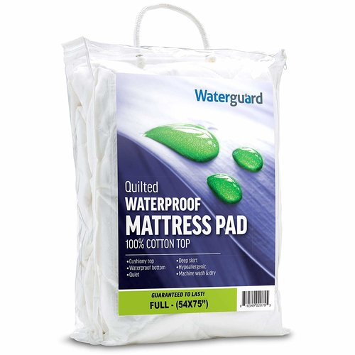 Alwyn Home Waterproof Top Fitted Polyester Mattress Pad