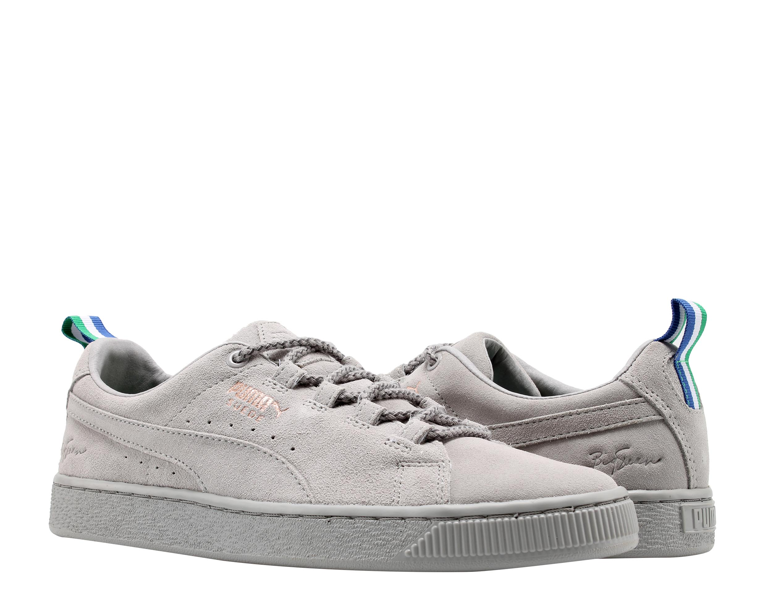 super popular a5ba5 9d63c Puma Suede BIG SEAN Ash-Ash/Grey Men's Casual Sneakers 36625101