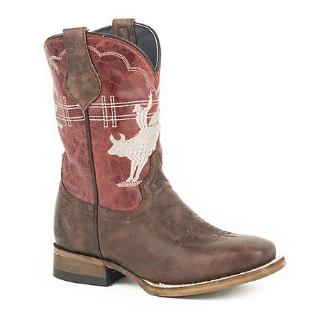 Roper Kids Bull Rider Square Toe Boots 10 ()