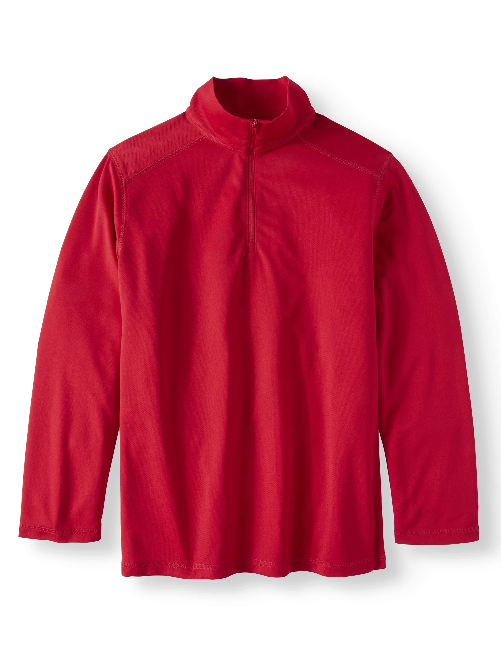 Boys School Uniform Quarter Zip Performance Pullover