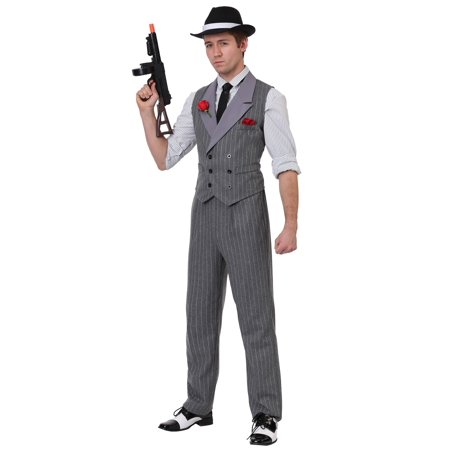 Men's Ruthless Gangster Costume - Mob Gangster Costumes