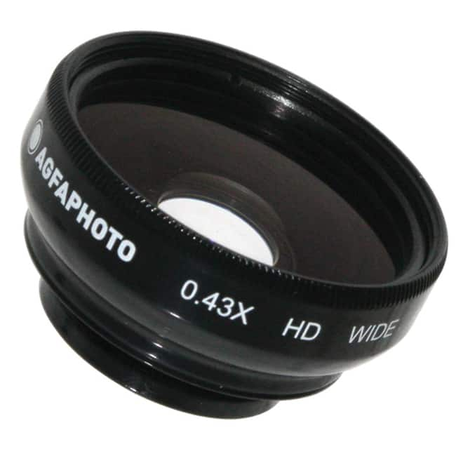 Agfa 0.43X Magnetic wide Angle Lens for Point and Shoot Cameras 17mm by Agfa