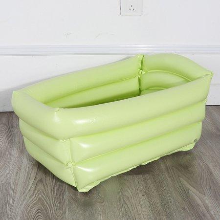 Portable Inflatable Baby Bathtub Folding Children Sit Lie Washing Tub Basin Travel Kid Bath Tub