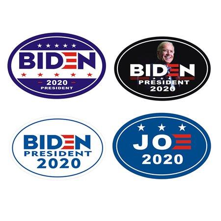 Car Fridge Magnet Joe Biden Harris President 2020 Magnetic Body Sticker Oval