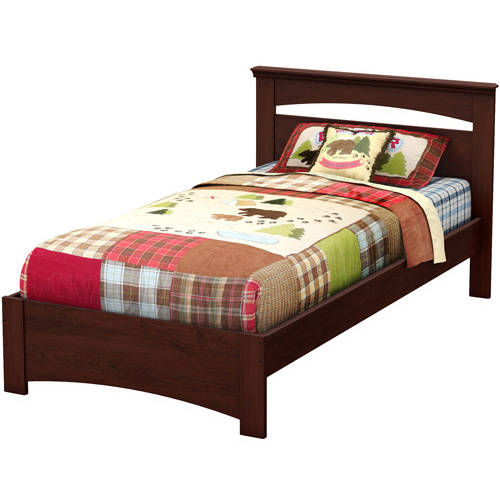 South Shore Smart Basics Twin Bed Multiple Finishes